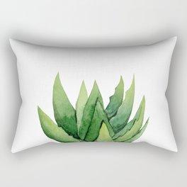 Aloe Vera. Rectangular Pillow