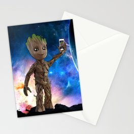 Baby G's Selfie Stationery Cards