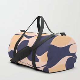 Abstraction_Organic_Shape_Minimalism_001 Duffle Bag