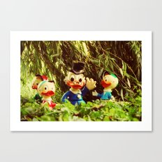 Duck Tales Canvas Print