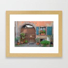 French Charm Framed Art Print