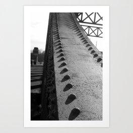 Boston University Bridge Art Print