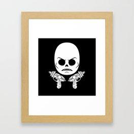 DeathRay Evil Empire Logo Framed Art Print