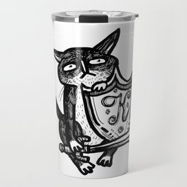 knight kat Travel Mug
