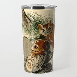 Little Screech Owl Travel Mug