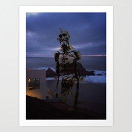 Rodin at Land's End Art Print