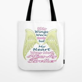 I Love My Brother Tote Bag