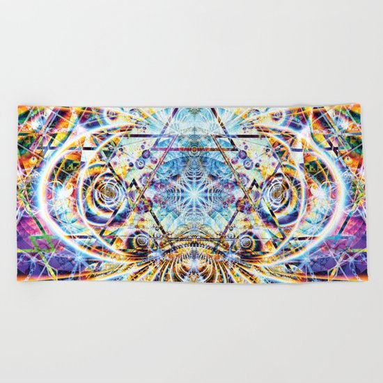 Psyberdelic Intensity Beach Towel