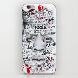 Tomorrow Tomorrow Tomorrow iPhone Skin