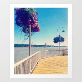 Down by the Bay Art Print