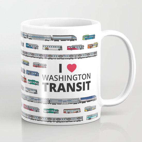 The Transit of Greater Washington Mug