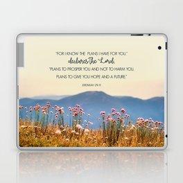 Jeremiah 29:11 Laptop & iPad Skin