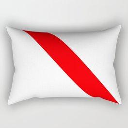 flag of strasbourg Rectangular Pillow