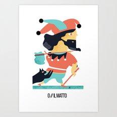 IL MATTO Art Print