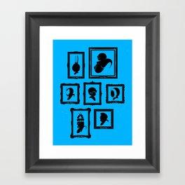 Stage Select Framed Art Print