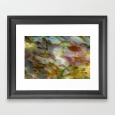 Abstract Dots Framed Art Print