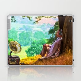 Out of time - Down time Laptop & iPad Skin