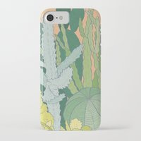 cacti iPhone & iPod Cases featuring Cacti by Julia Walters Illustration
