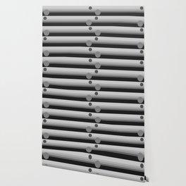 modern home pattern shades of grey Wallpaper