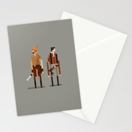 Brains and Brawn Stationery Cards