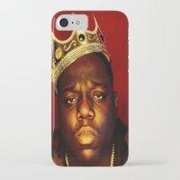 biggie smalls iPhone & iPod Cases featuring Biggie by I Love Decor