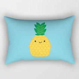 Kawaii Pineapple Rectangular Pillow