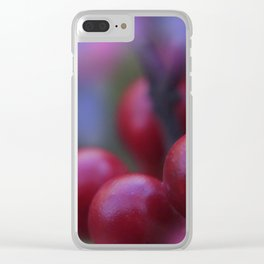 little pleasures of nature -11- Clear iPhone Case