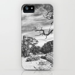 Desert View Watchtower iPhone Case