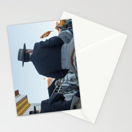 The four horses Stationery Cards