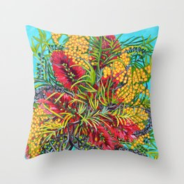 Australiana Throw Pillow