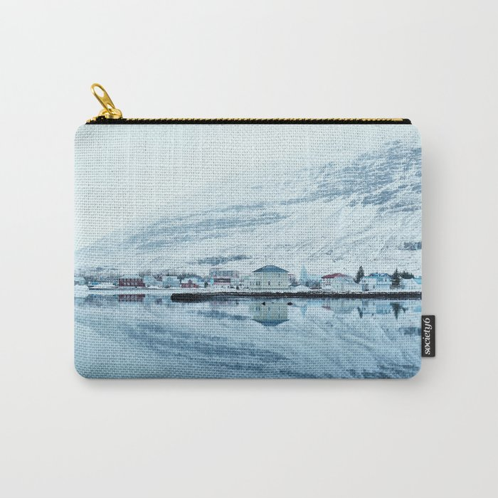 Houses by the water reflect Carry-All Pouch