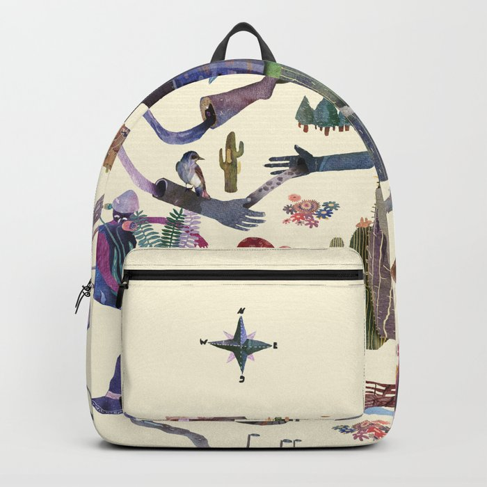 the big map Backpack