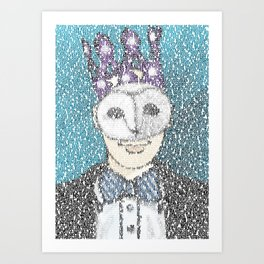 Happy Birthday C.Love Art Print