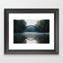 The Devil's Bridge - Landscape and Nature Photography Framed Art Print