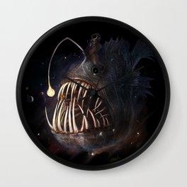 Space Angler Wall Clock