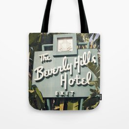 Beverly Hills Hotel Tote Bag