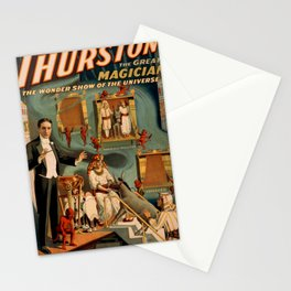 Thurston Magician Stationery Cards