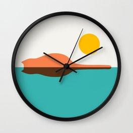 Cat island Wall Clock