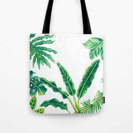 Tropical House Plants Tote Bag