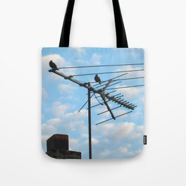birds eye view! ~ sky and clouds Tote Bag
