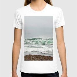 Explosive Green Surf of the St-Lawrence T-shirt