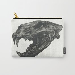 Lion Skull Carry-All Pouch