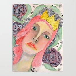 Pink hair Queen Poster