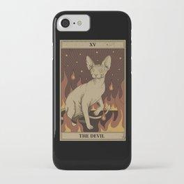 Le Diable iPhone Case