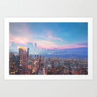 Skyline Dream Art Print
