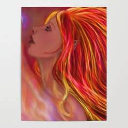 Flame Maiden Poster