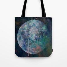Lunar Goddess Mandala Tote Bag