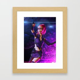 Spark of Honor - Sakura Framed Art Print