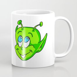 Extraterrestrial smiling child face Coffee Mug