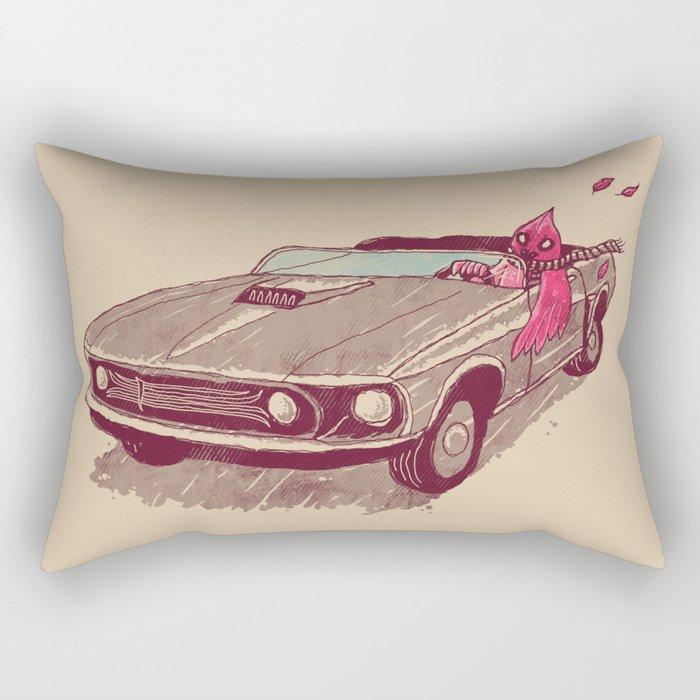 Fear of Flying Rectangular Pillow